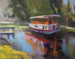 Boat on the Canal