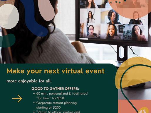 Three ways to make your next virtual event more enjoyable for everyone.