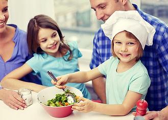 Gotowanie rodzina