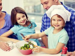 Atelier cuisine pour enfants : Taboulé de quinoa à la mangue et au chou kale croustillant