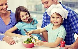 Cocinar la familia