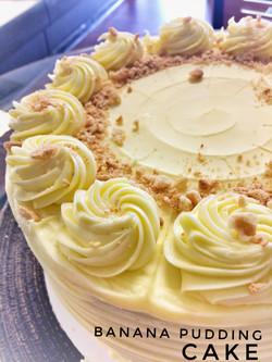 Banana Pudding Cake