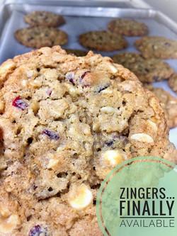 Zinger Cookies
