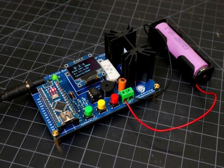 Arduino Battery Capacity Tester - V2.0