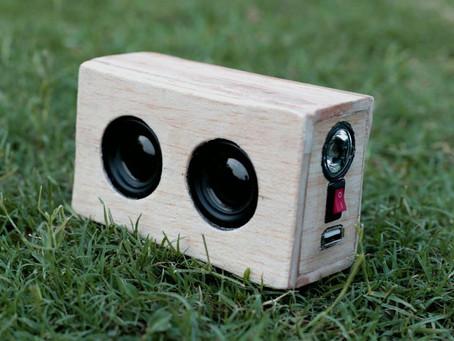 DIY Powerful 3 in 1 Mini Bluetooth Speaker