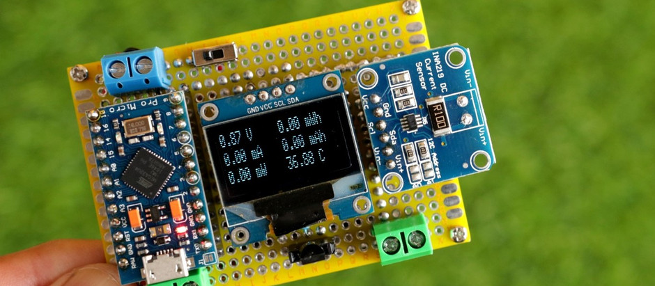 DIY Arduino Multifunction Energy Meter