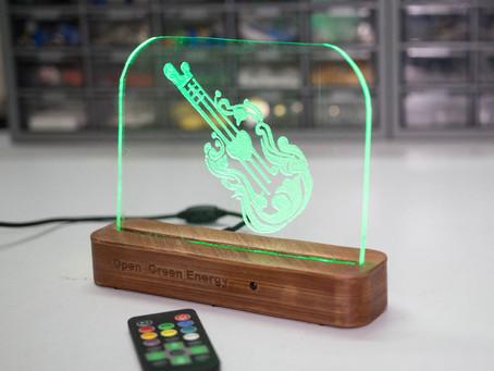 DIY Acrylic LED Sign