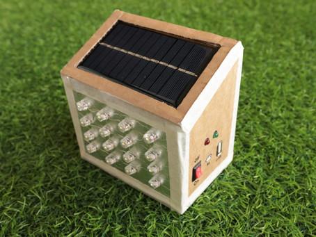 DIY Solar Emergency Lamp