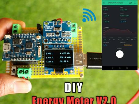 DIY Arduino Multifunction Energy Meter V2.0