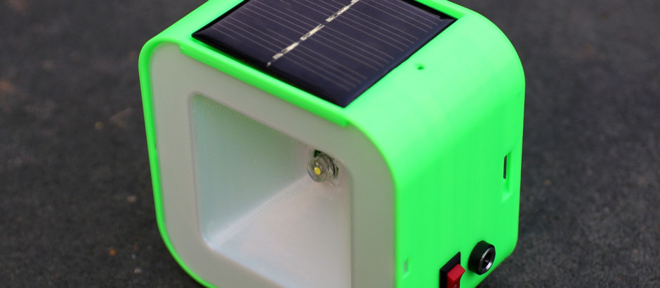 DIY Solar Lamp V2.0