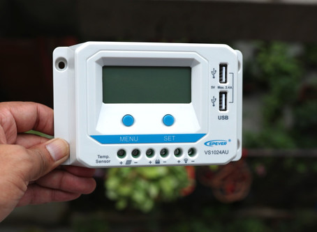 EPEVER ViewStar-AU Series-PWM Solar Charge Controller Review
