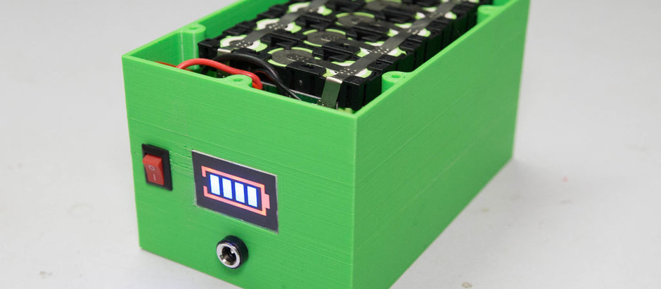 DIY Professional 18650 Battery Pack
