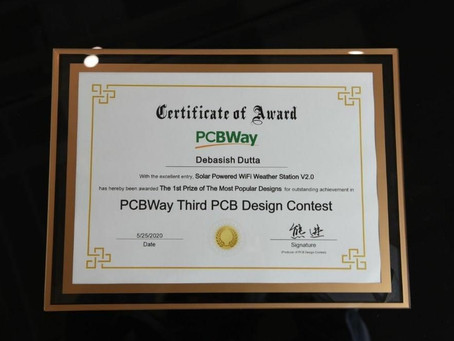 Winners of PCBWay 3rd PCB Design Contest