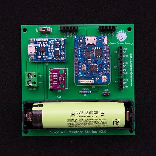 PCB - Solar WiFi Weather Station V2.0