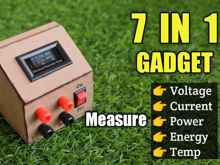 Make a 7 IN 1 Multifunction Tester