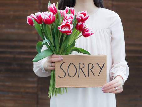 """""""I'm Sorry"""" When to Say it, How to Say it, & When to Use a Different Approach."""