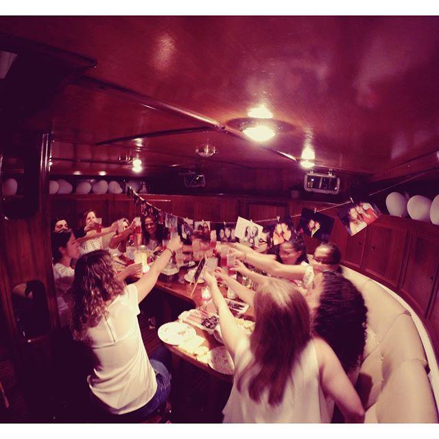Celebrate Life!! #sailinglovers  #bridesmaid #bride
