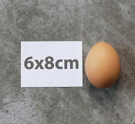 """8x6cm (3.2"""" x 2.4"""") Custom Stickers"""