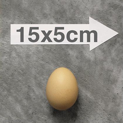 "15x5cm (5.9"" x 2"") DIE-CUT Custom Stickers"
