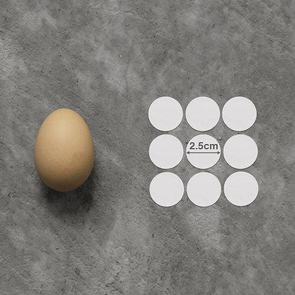 "2.5cm (1"") Circle Custom Stickers"
