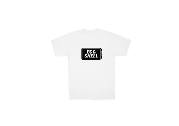 Egg Shell Logo White T-shirt