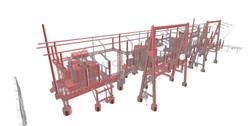 Electrical plant Scan to BIM