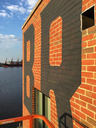 Brown's Wharf, detail