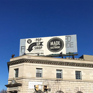 Made in Baltimore Pop Up Shop 2017