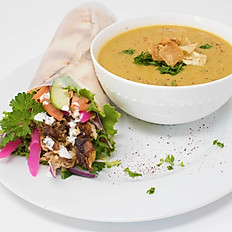 Soup & Pita Combo
