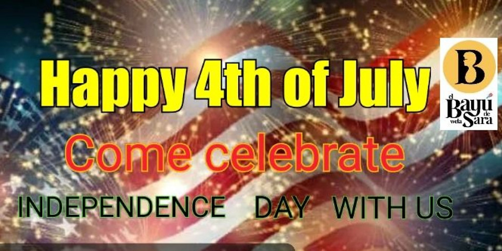 Independence day with us