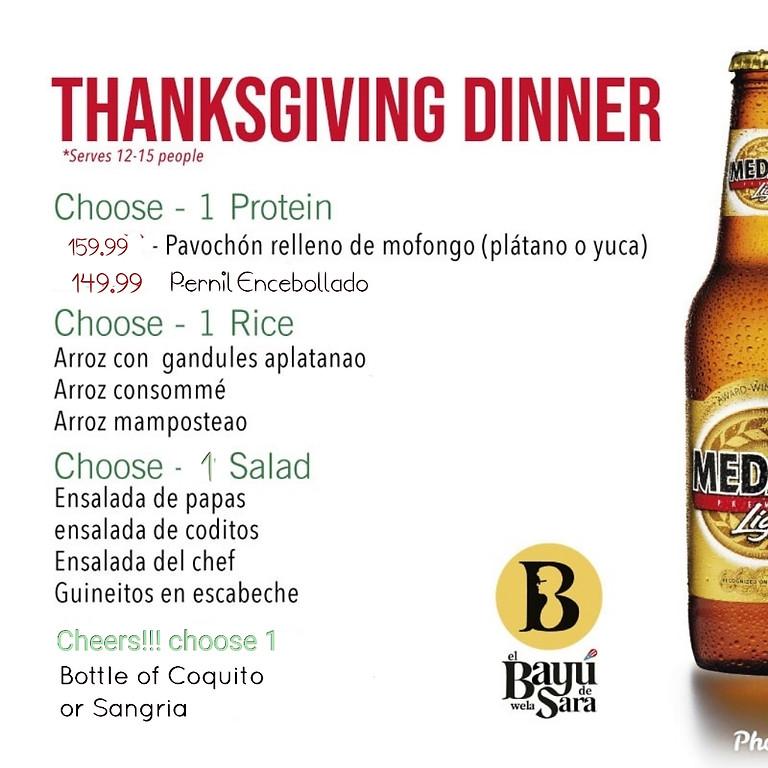 Thanksgiving like Home 🏡