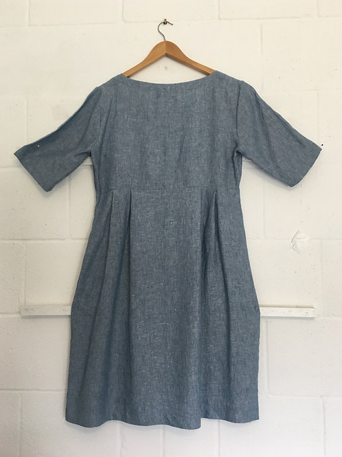Workhouse dress with mid sleeve size 14