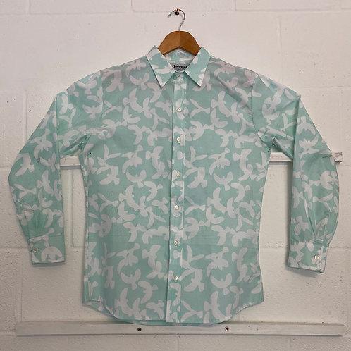 Pale blue dove shirt