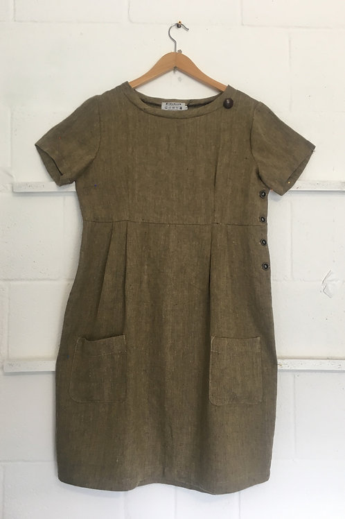 Workhouse dress herringbone