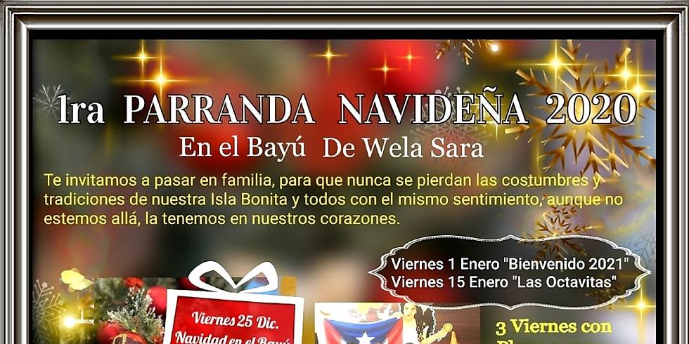 Parranda  Navideña  at el Bayú de wela Sara