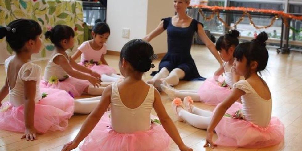 Ballet 体験レッスン (3-5歳キッズ)