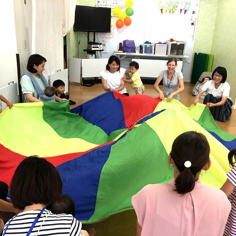 【10/28 体験レッスン】Sing & Move Fun! (1~3歳向け)