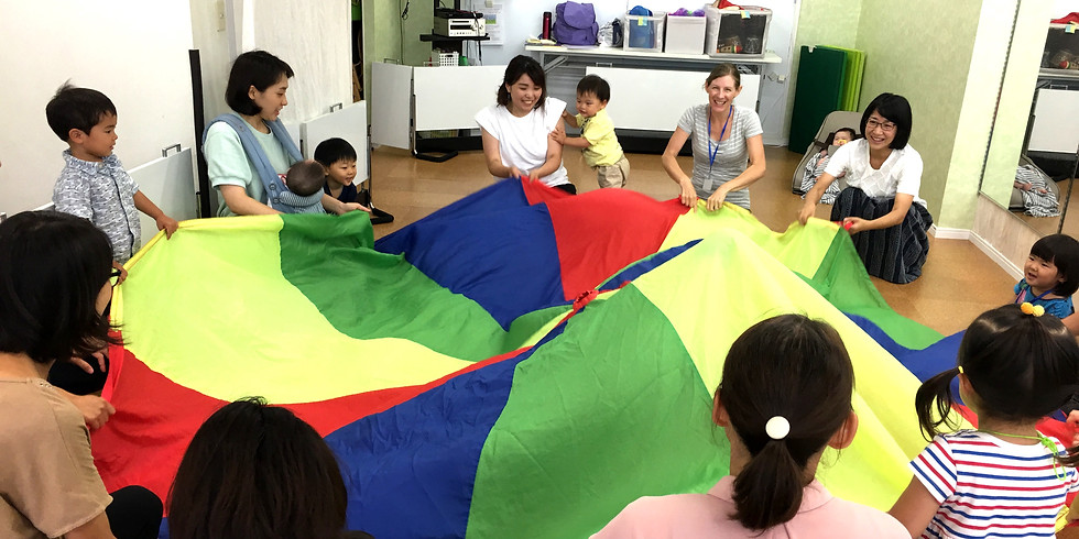 Sing & Move! 体験レッスン(1~3歳キッズ&ママ)