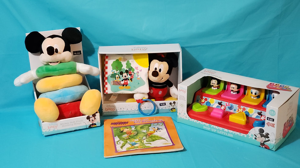 BABY MICKEY MOUSE BASKET 3