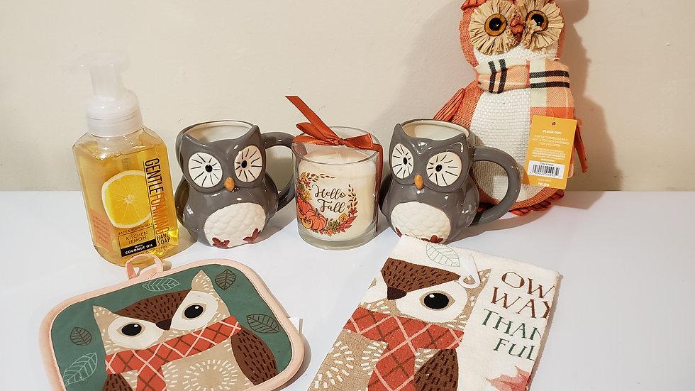 Owl Harvest Basket