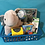 Thumbnail: ELEPHANT BIB & BOOTIE BASKET