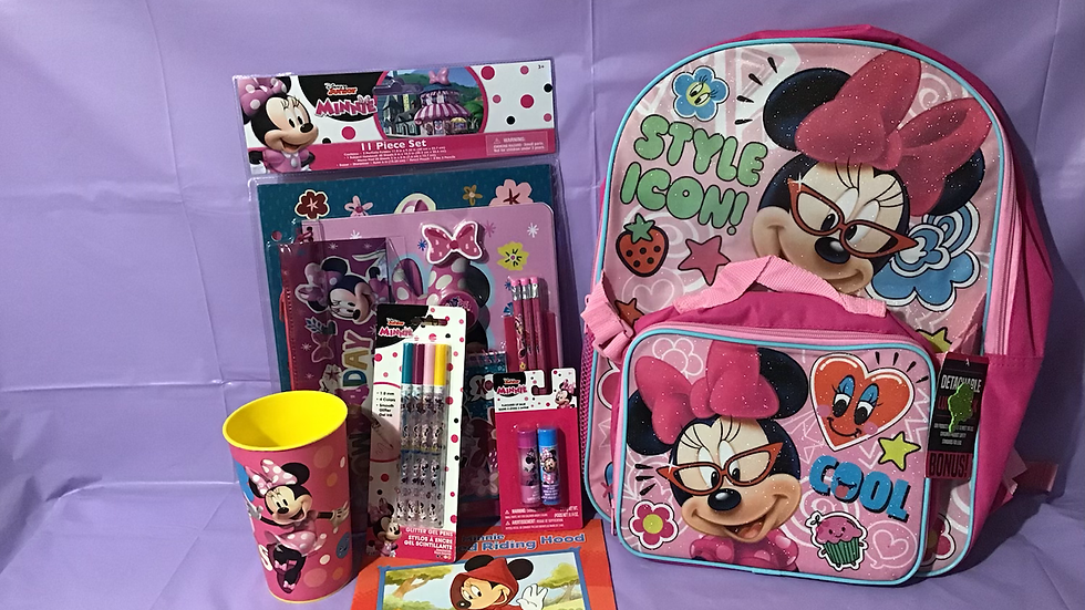 MINNIE MOUSE BACK TO SCHOOL
