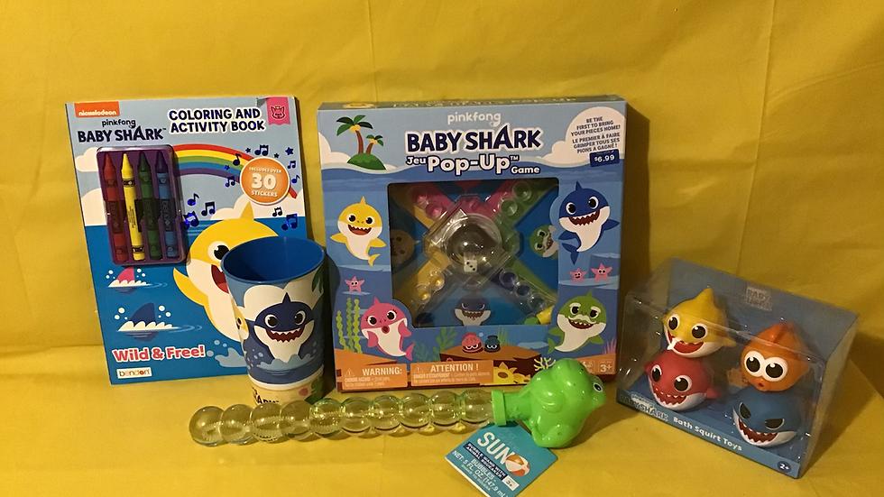 BABY SHARK GIFT BASKET