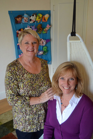 Maureen and Claire, the clinic owners