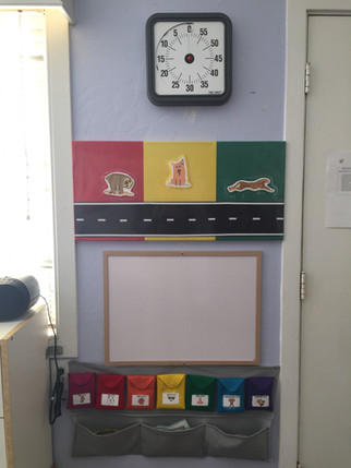 Visual timers help our kids stay on track