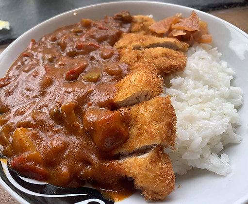 Chicken or Pork Katsu Curry