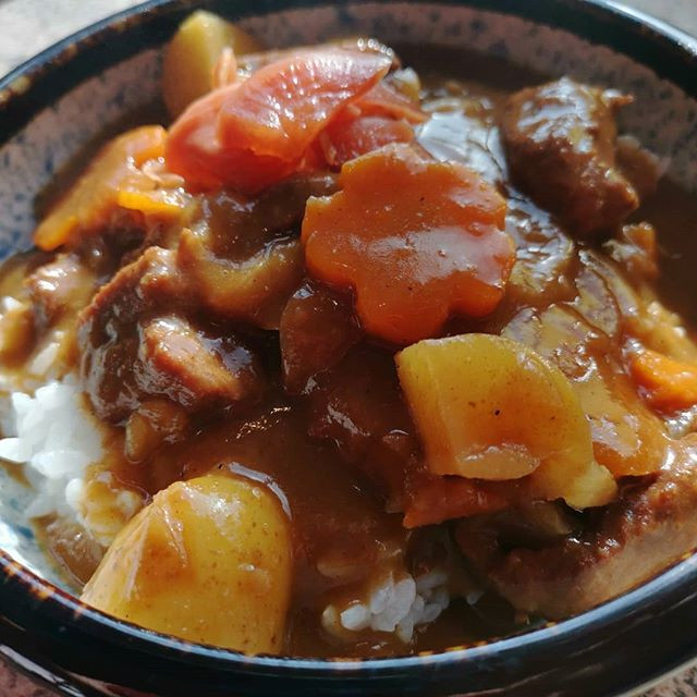 Japanese java beef curry. Made today for