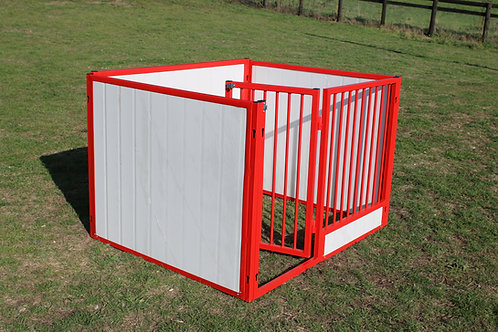 Coloured Solid Side Puppy Pen