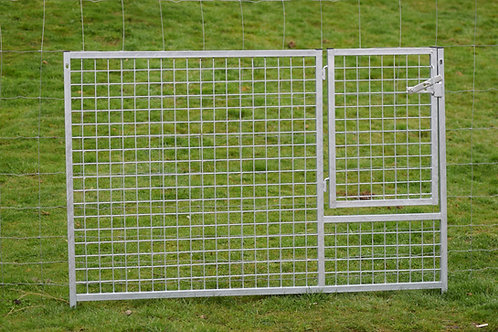 Galvanised Puppy Mesh Gates