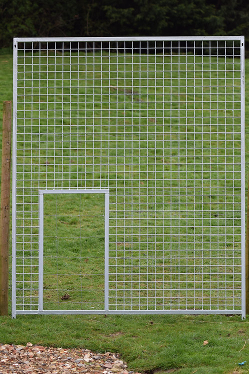 Galvanised Mesh Void Panel